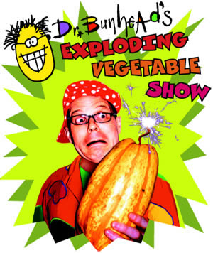 Exploding Vegetable Show Poster